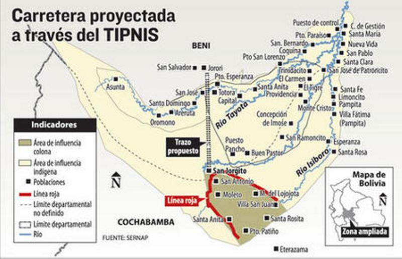 Bolivia TIPNIS Communities Divided As Road Consultation Begins