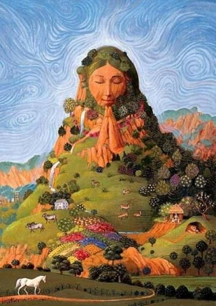 Mother Earth (credit: EarthFirstNewswire)